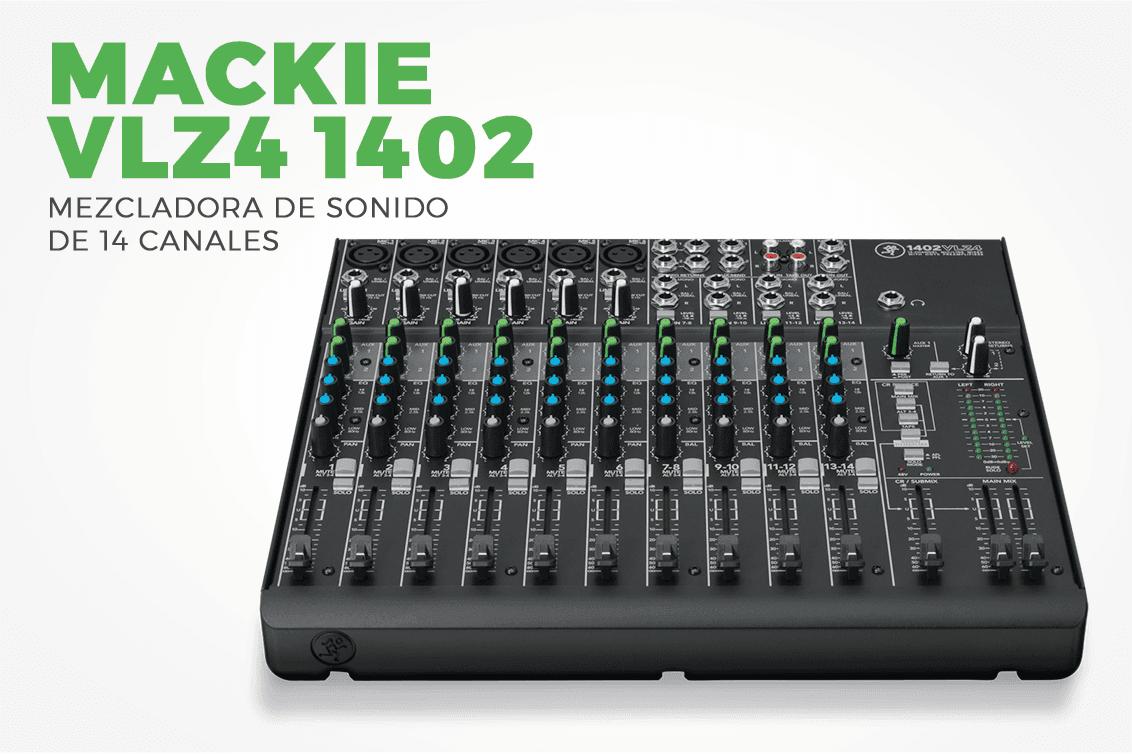 Mezcladora Mackie vlz4-1402
