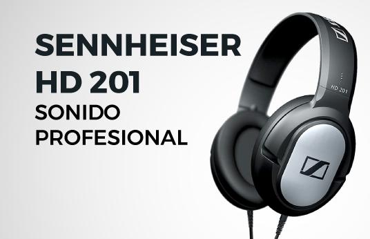Audifonos Sennheiser HD201