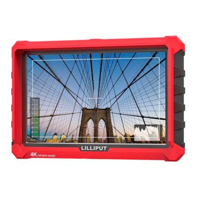 """Monitor con soporte 4K Lilliput A7S 7"""" para cámaras"""