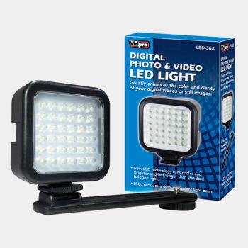 Lámpara LED para teléfono y cámaras