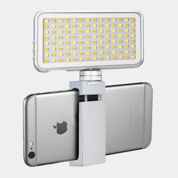 Luz LED para teléfonos Vidpro LED-112 con soporte para móvil