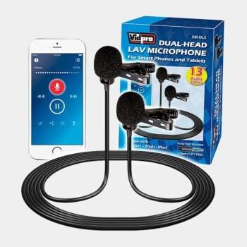 Micrófono dual para teléfonos